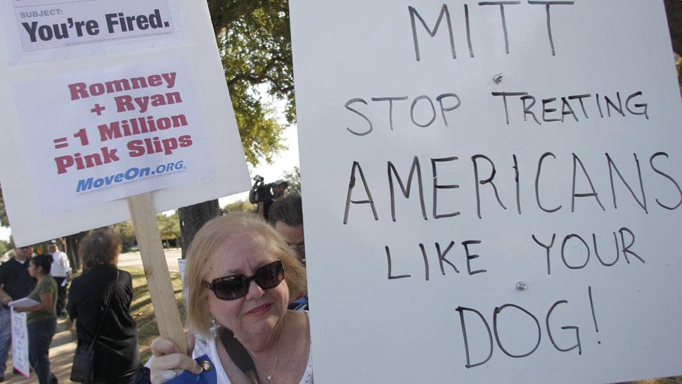 Críticas. Los dichos de Mitt Romney desataron duros reclamos (AP).