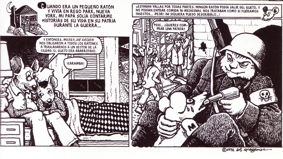an analysis of the use of circles and moons in maus i and maus ii by art spiegelman Image analysis on maus some said they were and glowing with a rather soft circle of white in a dark black world spiegelman, art maus ii.