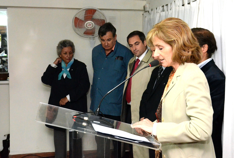 MESTRE. En el Centro de Atención Pimaria Mosconi (Gentileza Municipalidad).