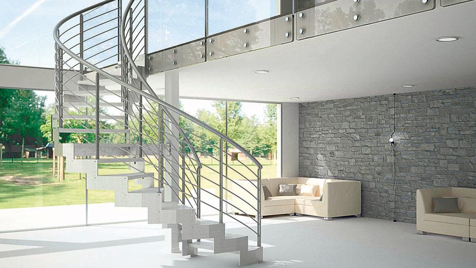 Escaleras objeto del dise o la voz del interior for Construccion de escaleras de concreto armado
