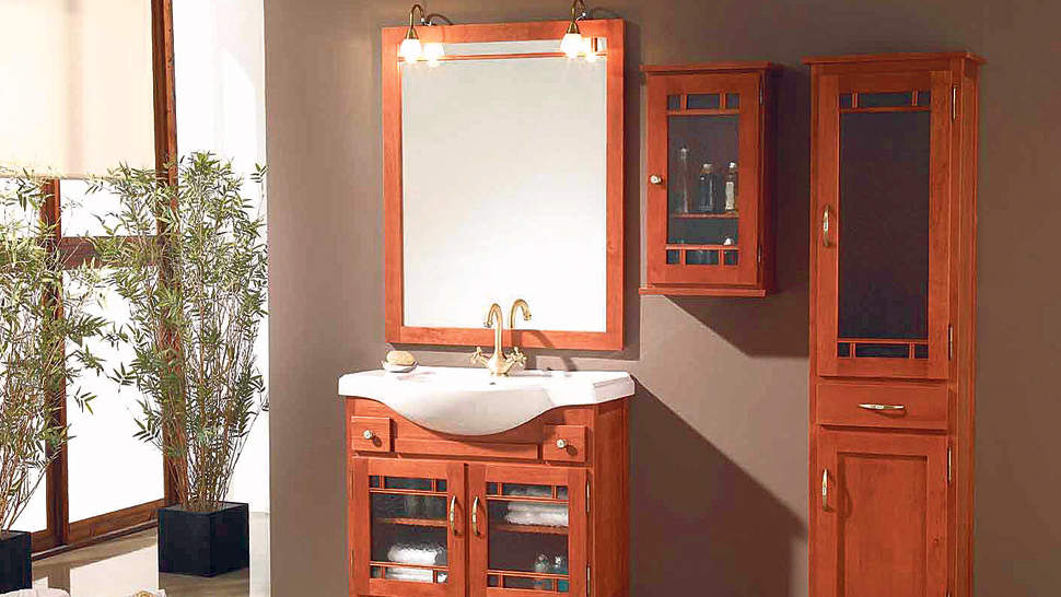 Muebles Para Baño De Pino:Mueble rústico: cálido e informal
