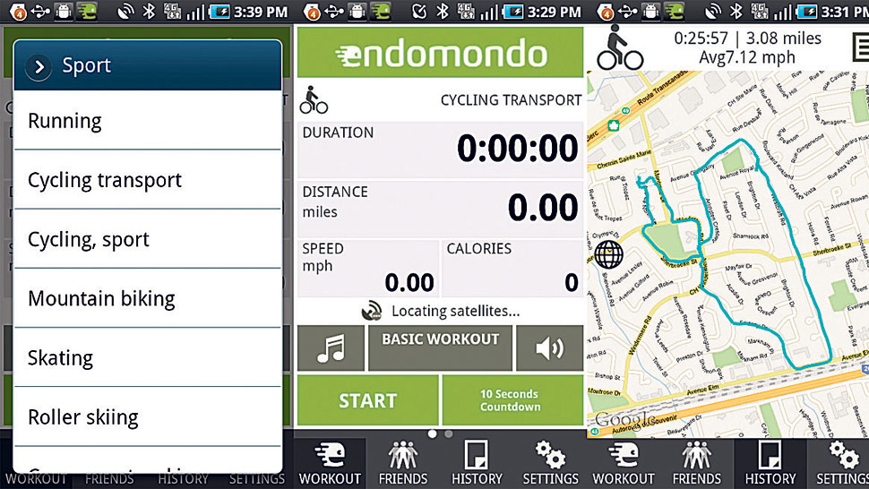 Endomondo y RunKeeper.