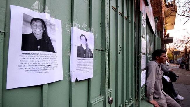 ÁNGELES RAWSON. El cadáver de la chica apareció al mediodía del martes.