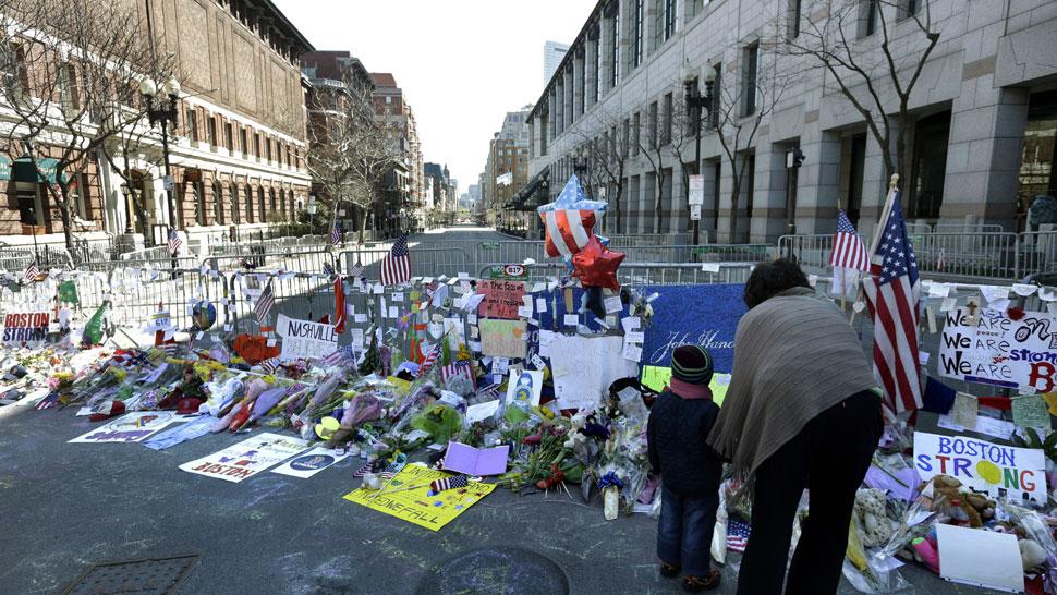 BOSTON. El lugar de las explosiones (AP).