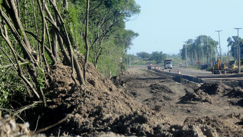 Polémica. Los vecinos se enojaron por los árboles derribados. Vialidad promete hacer una reforestación (Pedro Castillo/La Voz).