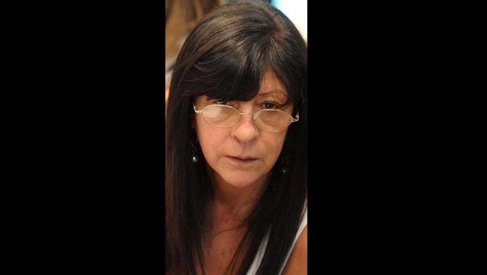 Diana Conti, contra la Corte.