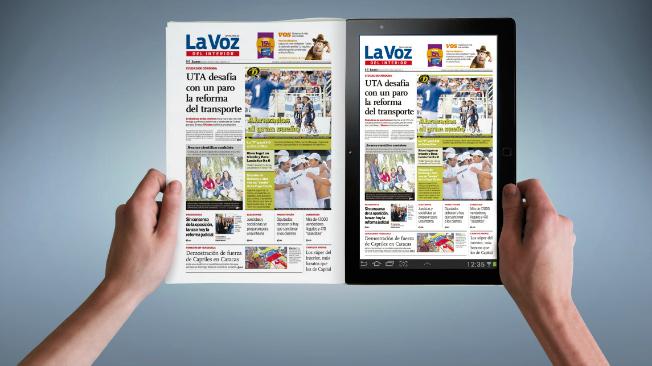 Edici n digital el diario llega ahora a todos los dispositivos la voz del interior - La voz del interior ...