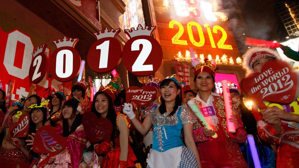 HONG KONG. En China ya festejan el año nuevo (AP).