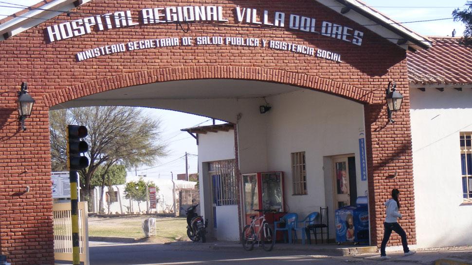 La pequeña falleció en el Hospital Regional de Villa Dolores (La Voz).
