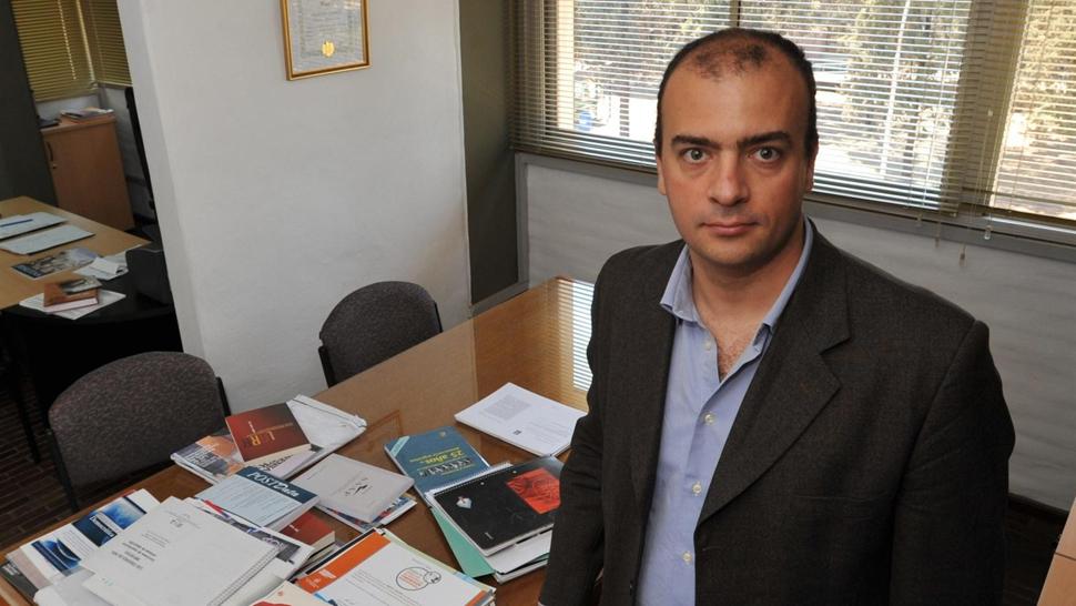 Destacado. Con sólo 38 años, Lardone tenía ganada fama como politólogo y docente. Era funcionario municipal de Córdoba (Antonio Carrizo/Archivo).