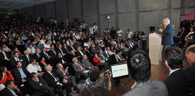 DE LA SOTA. El gobernador lanzó el PPP 2013 (Gentileza Prensa de Gobierno).