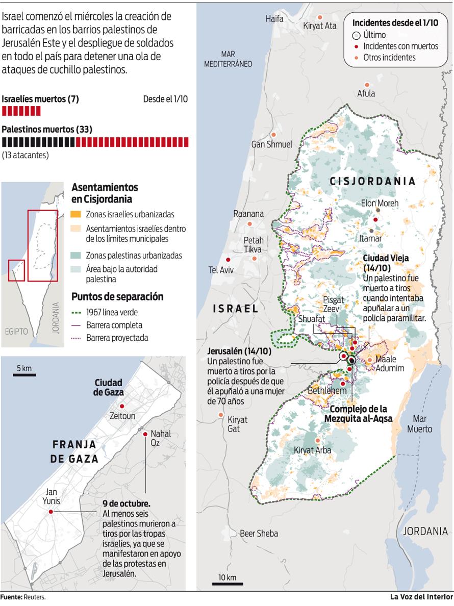 Mapa de Israel, Mapa de Israel