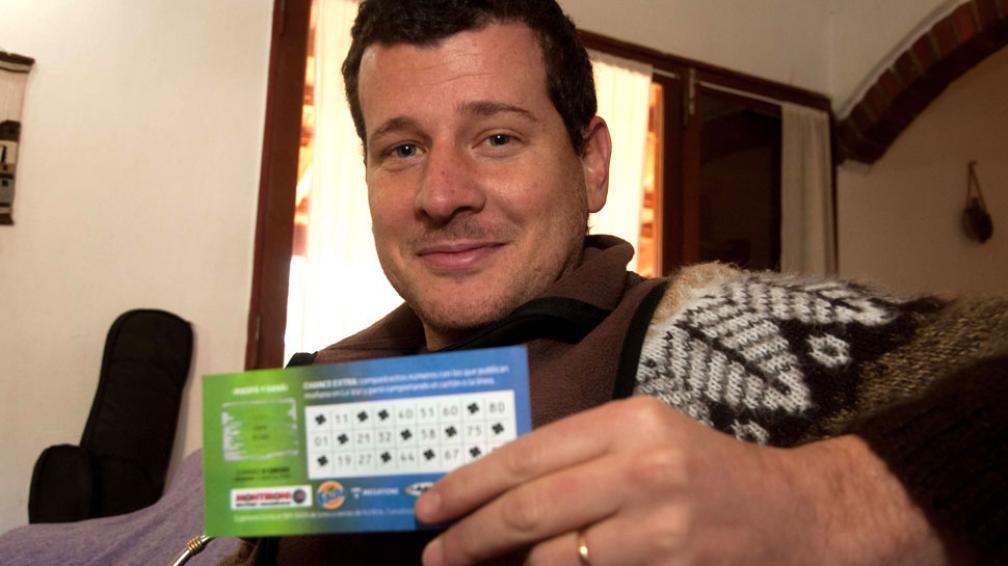 Viaje. Darío vive en Villa General Belgrano. Ganó $ 5.000, que invertirá en un viaje para descansar (LaVoz).