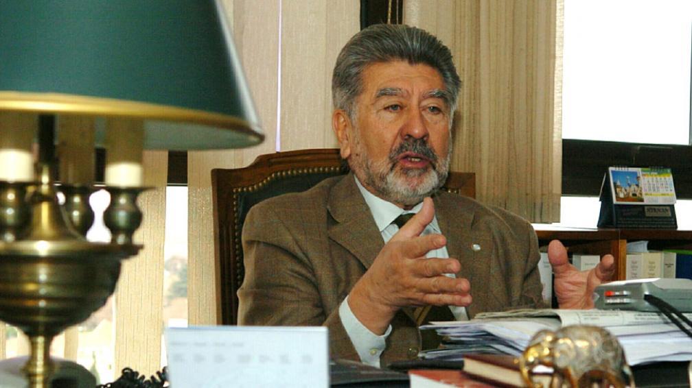 José Vicente Muscará, uno de los camaristas que firmaron el fallo (Raimundo Viñuelas/LaVoz).