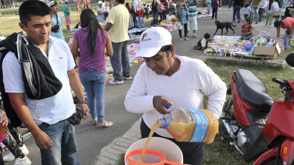 Mayoría. Los peruanos son la comunidad más grande de Córdoba (Facundo Luque/Archivo).