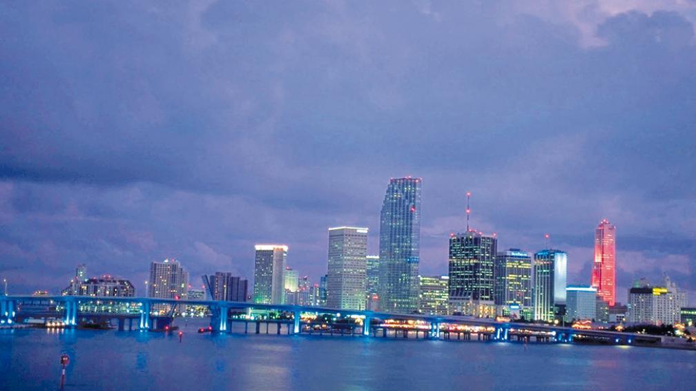 Miami, un poderoso imán para muchos viajeros que buscan sus playas, sus grandes centros de compras, su vida nocturna y, por qué no, sus hoteles boutique.