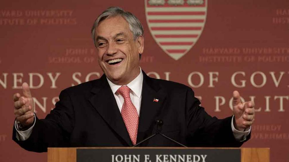 PIÑERA. El presidente hizo un chiste que no cayó bien entre las mujeres (Archivo).