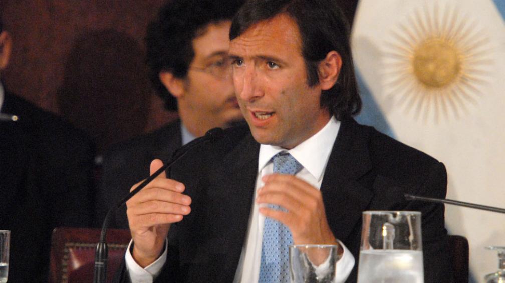 LORENZINO. Replicó así los dichos del ministro de Economía Español, Luis de Guindos (Télam/Archivo).