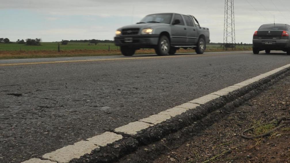Deteriorada. La ruta 36, que une Córdoba capital con Río Cuarto, está en pésimo estado. De la Sota prioriza la construcción de una autovía (LaVoz/Achivo).