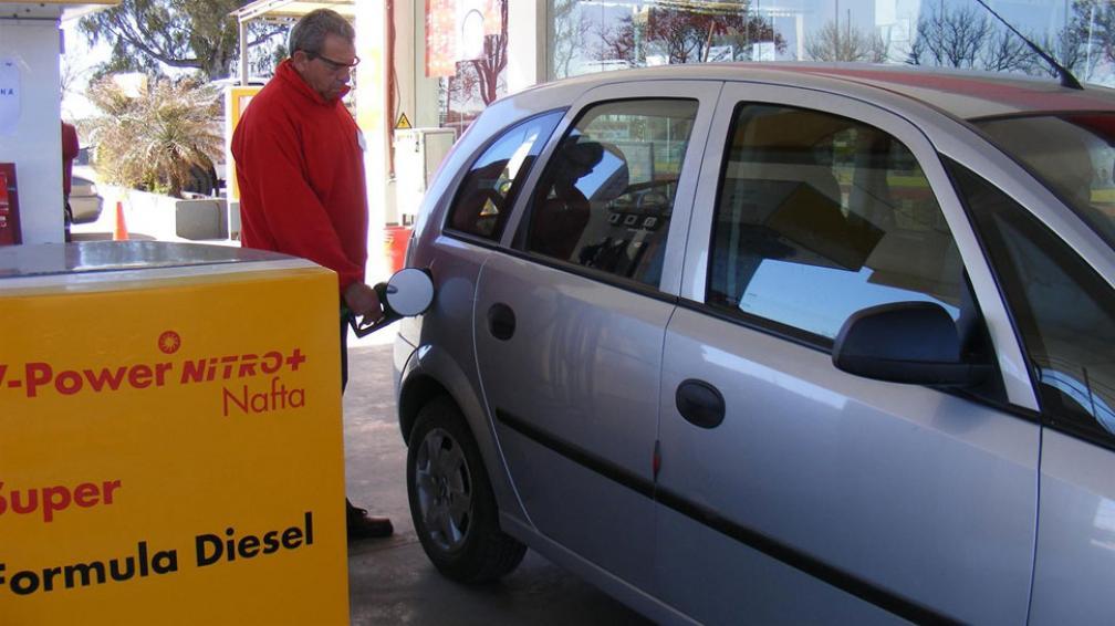 Sin incidencia. En Clucellas, Santa Fe, por ahora no aumentaron las ventas de combustibles.