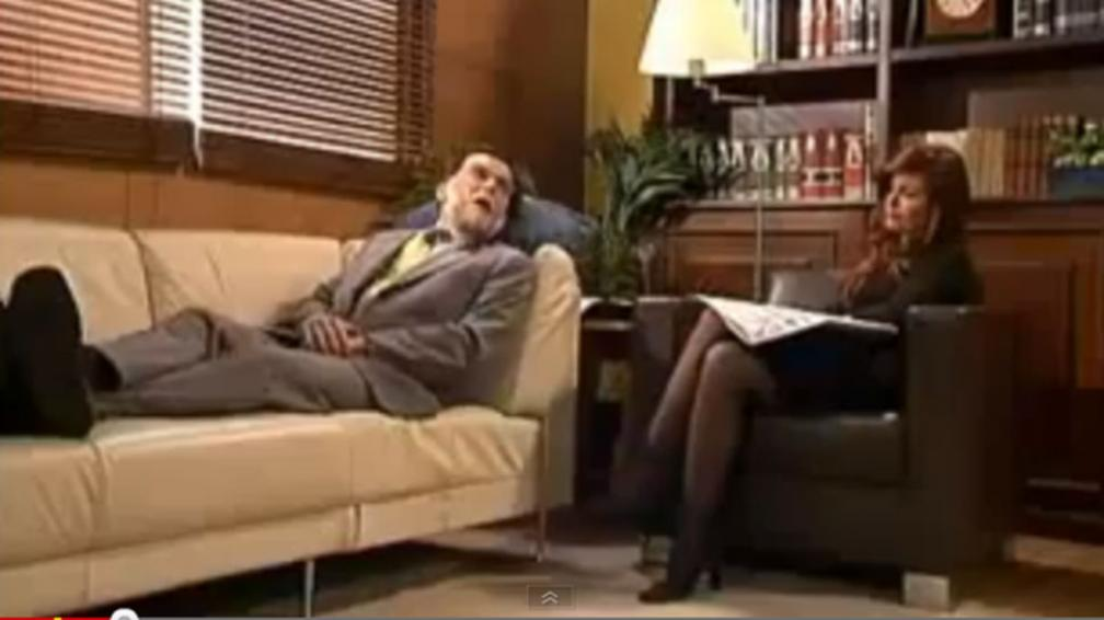 CRISTINA. Psicoanaliza a Rajoy (Captura video).