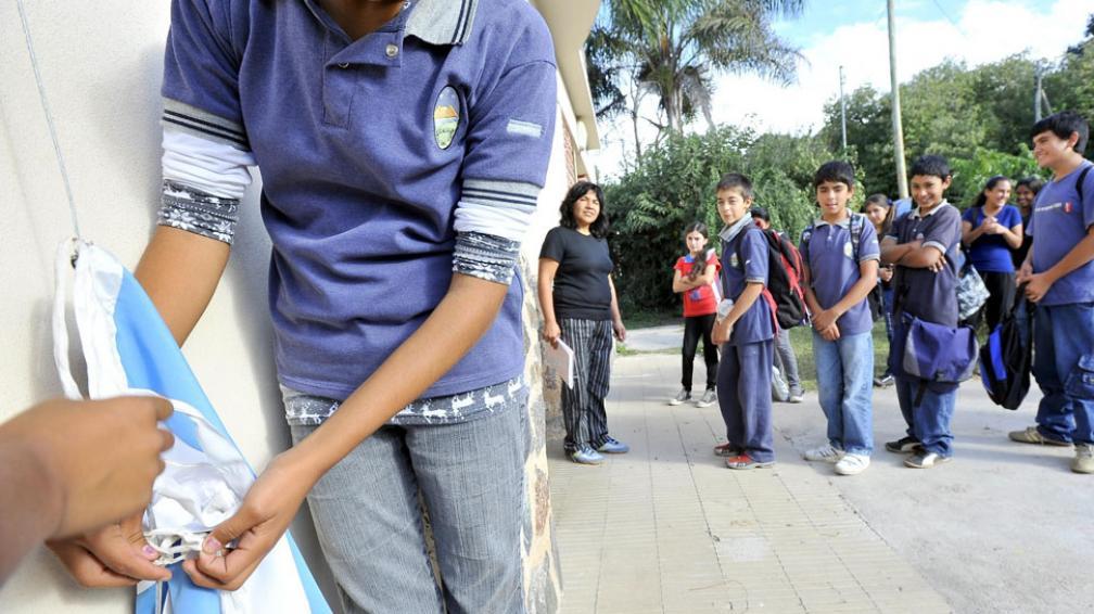 En las escuelas rurales, los chicos de la ciudad encuentran una mayor contención (La Voz / Sergio Cejas).