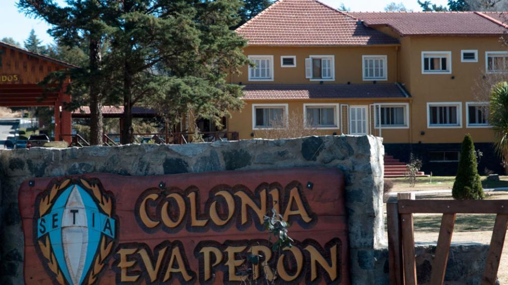 Villa General Belgrano. La colonia de vacaciones del sindicato textil es también un reconocimiento a Eva (La Voz).