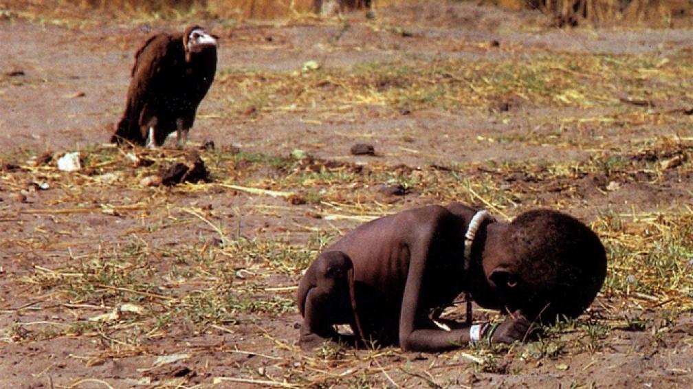 LA FOTO. Ganó el Pulitzer en 1994.