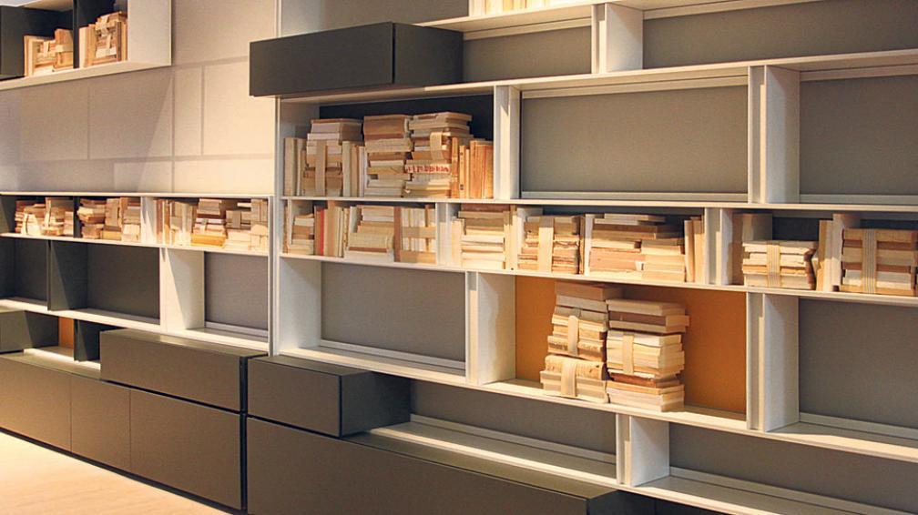 """La madera, el material """"vedette"""" de la muestra, elegido por la mayoría de las firmas expositoras, al natural o con distintos acabados."""