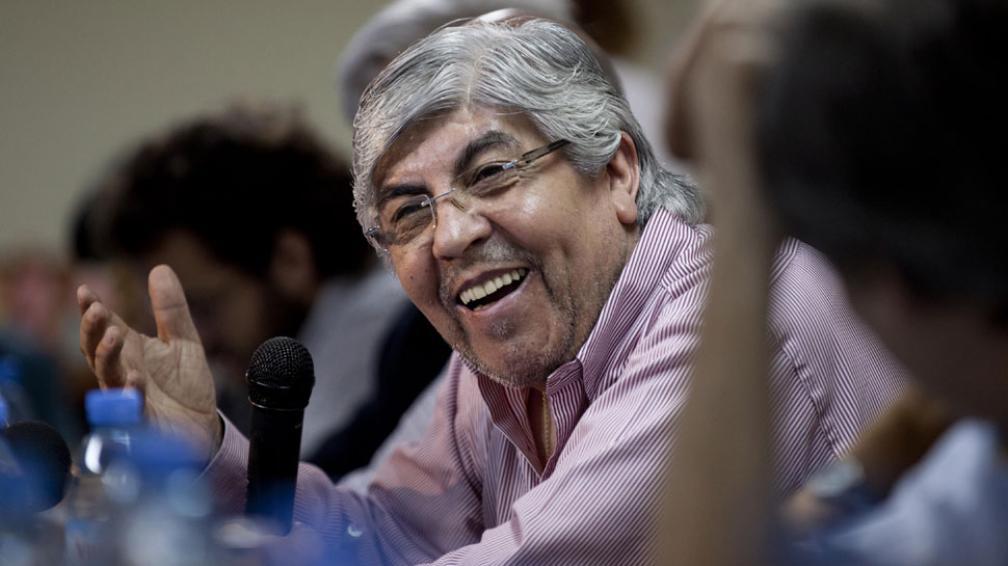 Conciliador. A través de un hombre de su confianza, Hugo Moyano pidió una negociación con opositores (DyN / Archivo).