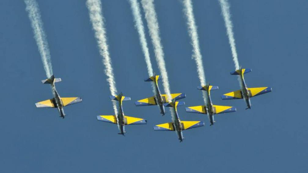 FESTEJOS. La Escuela de Aviación invita a la celebración por su centenario (LaVoz/Archivo).