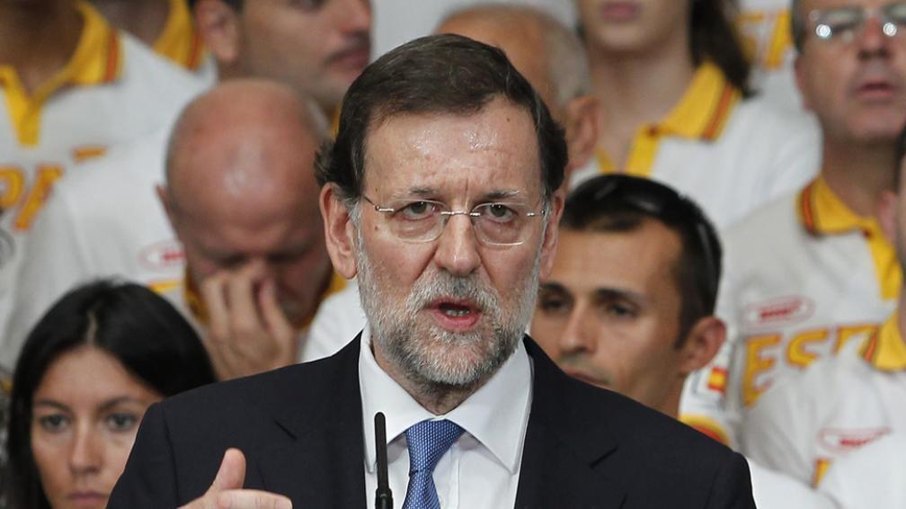 RAJOY. Negó un rescate total para España (AP/Archivo).