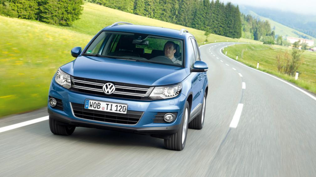 Volkswagen Tiguan BlueMotion (Fotografías: gentileza de las respectivas marcas).