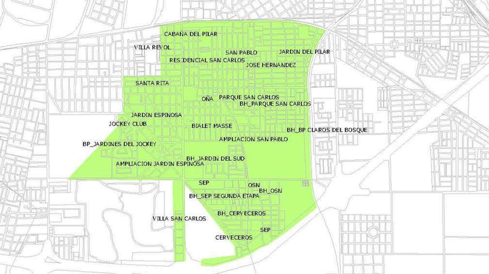Corte de agua afecta a 15 barrios del sur de la ciudad de for Barrio jardin espinosa cordoba
