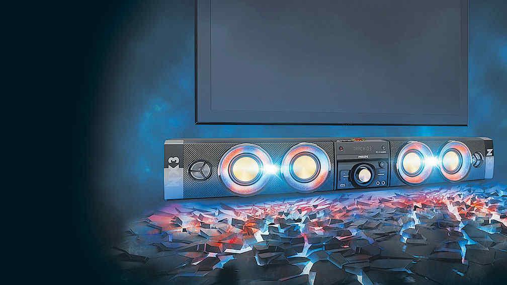 La m sica y las luces en un solo equipo la voz del interior - Equipo musica casa ...