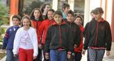 Hay equipo. Los 11 chicos que debatieron sobre cómo mejorar la escuela (La Voz / José Gabriel Hernández).