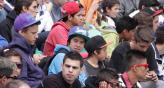 CARLOS PAZ. Miles de chicos ya está disfrutando los festejos (LaVoz).