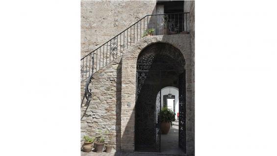 Museo Sobre Monte detalle acceso al segundo patio / Foto de Agencia Córdoba Cultura.