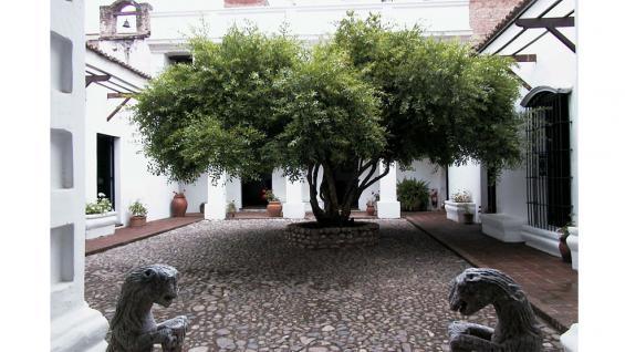 Museo Sobre Monte patio principal / Foto de Agencia Córdoba Cultura.
