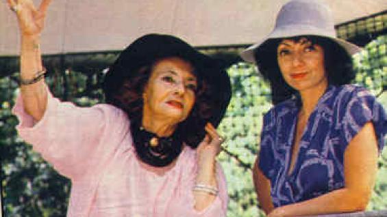 La escritora Luisa Mercedes Levinson crió a su hija Luisa Valenzuela en un entorno de escritores.