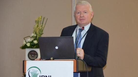 PRESENCIA. Terry Roberts, presidente del International Plant Nutrition Instit