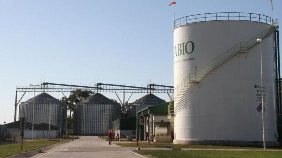 Planta de ACA Bio, en Villa María (La Voz).