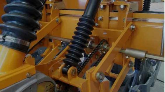 SIEMBRA. Actuador hidroneumático desarrollado por las empresas Agrometal y Baratec (Agrometal).
