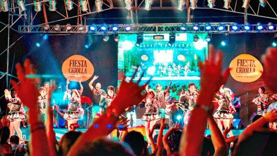 CON TODO. Llawar Llajta volverá a instalar todo el colorido de su música en la Fiesta Criolla (Municipalidad de Estación Juárez Celman).