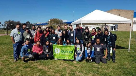Más de 500 jóvenes vinculados a la lechería de todo el país se congregaron en Villa María.