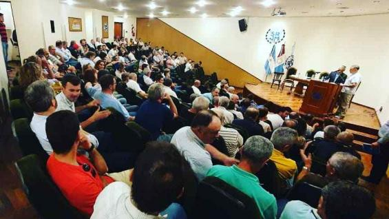 CONVOCATORIA. La asamblea se llevó a cabo en el salón auditorio de la Sociedad Rural de Jesús María. (Gentileza SRJM)