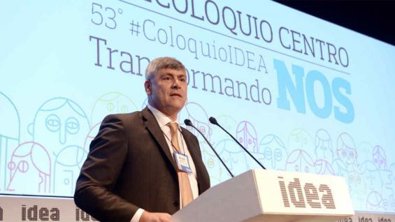 BURYAILE. El ministro de Agroindustria, en el pre coloquio de IDEA (Prensa Agroindustria)