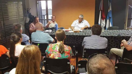 REUNIÓN. En Córdoba sesionó hoy el consejo directivo de Cartez. (Prensa Cartez)