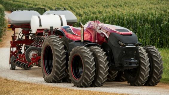 Resultado de imagen para El tractor que se maneja a través de una tablet llegó a la Argentina