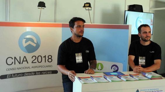 El Censo Agropecuario 2018 se lanzó en Expoagro. (Prensa Indec)